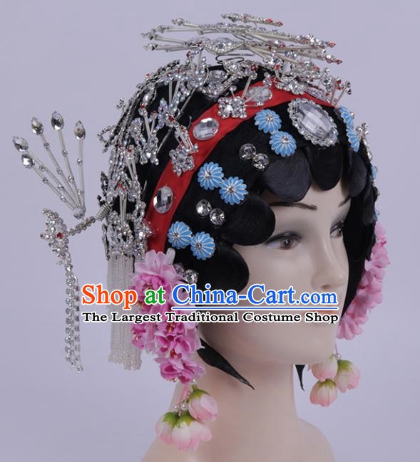 Chinese Traditional Peking Opera Actress Hair Accessories Ancient Hairpins for Women