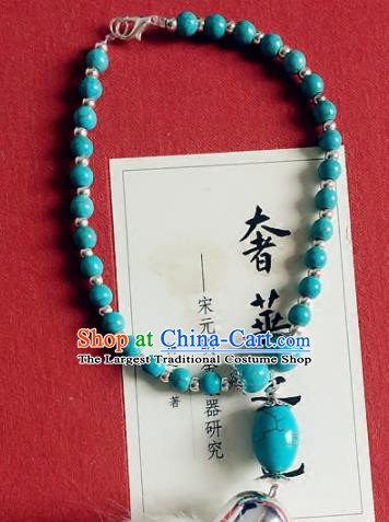 Top Grade Chinese Handmade Jewelry Accessories Green Beads Bracelet for Women