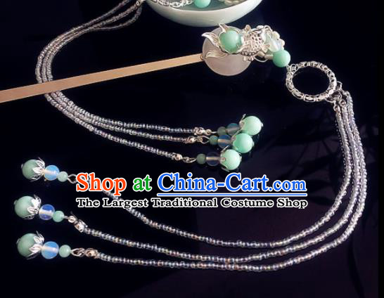 Chinese Handmade Ancient Hair Accessories Hanfu Goldfish Hairpins for Women