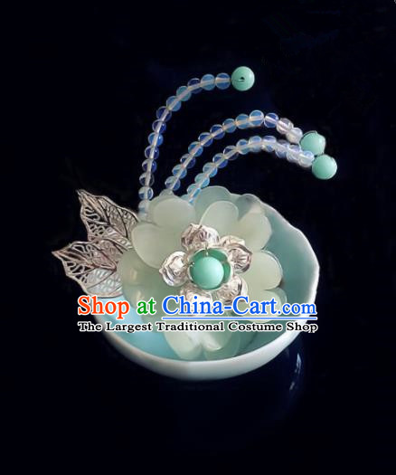 Chinese Handmade Ancient Flowers Hair Claw Hair Accessories Hanfu Hairpins for Women