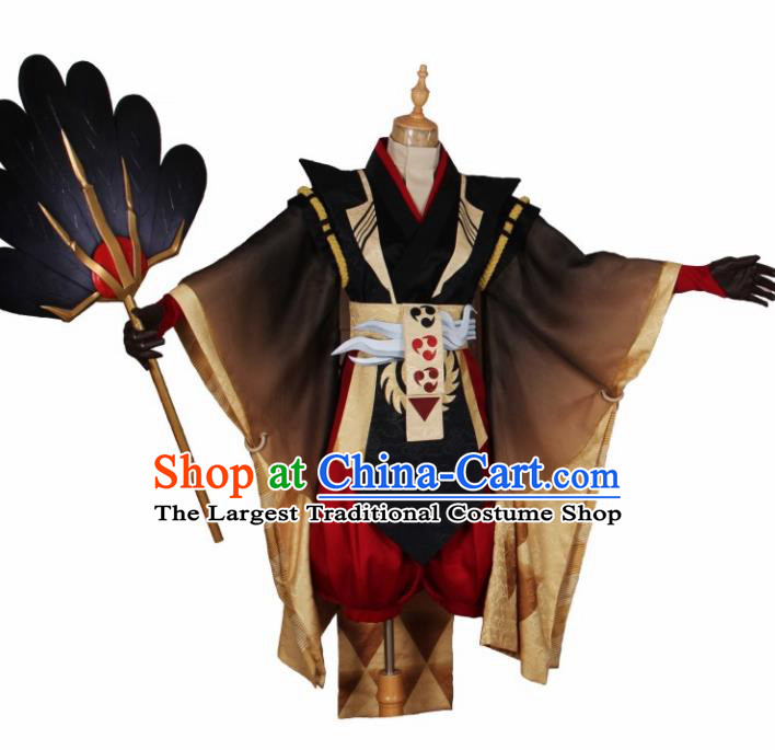 Traditional Chinese Ancient Swordsman Knight Costumes for Men