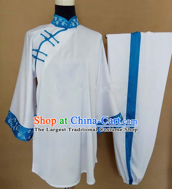 Chinese Traditional Martial Arts Costumes Tai Chi Kung Fu Training Clothing for Women