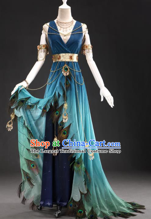 Top Grade Cosplay Queen Costumes Halloween Cartoon Characters Dress for Women