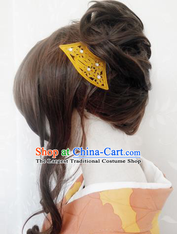 Japanese Traditional Hair Comb Ancient Courtesan Kimono Hairpins Hair Accessories for Women