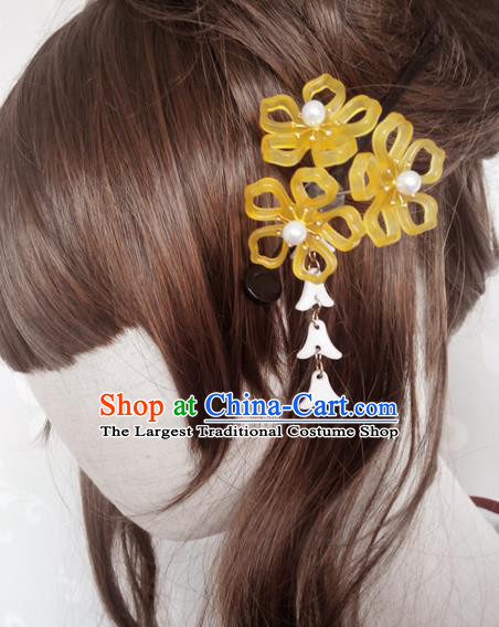 Japanese Traditional Courtesan Hairpins Ancient Geisha Kimono Hair Accessories for Women