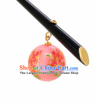Japanese Traditional Hair Accessories Ancient Courtesan Kimono Nude Pink Hairpins for Women