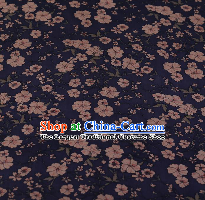 Chinese Crepe Satin Plain Palace Pattern Traditional Cheongsam Silk Fabric Chinese Fabric Asian Material