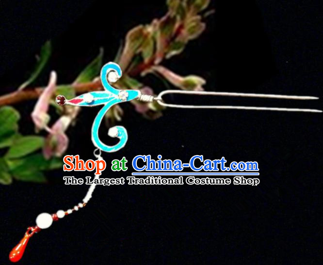 Chinese Traditional Ancient Hairpins Beijing Opera Tassel Hair Accessories for Women