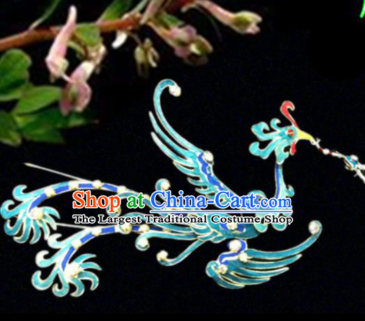 Chinese Traditional Ancient Princess Phoenix Hairpins Beijing Opera Hair Accessories for Women