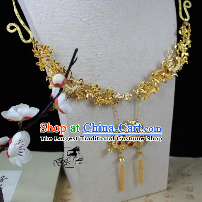 Chinese Classical Jewelry Accessories Traditional Ancient Hanfu Necklace for Women