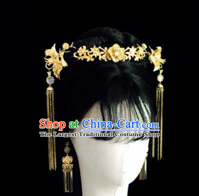 Chinese Classical Hairpins Wedding Hair Accessories Traditional Ancient Hanfu Hair Clasp for Women
