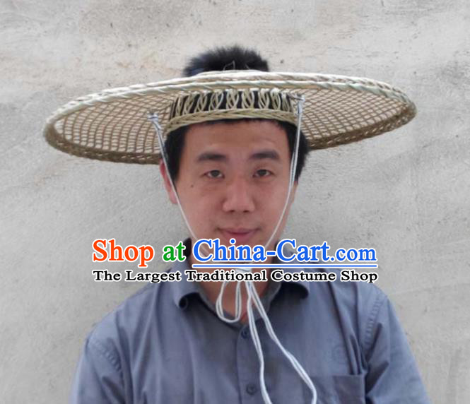 Chinese Traditional Handmade Craft Bamboo Hat