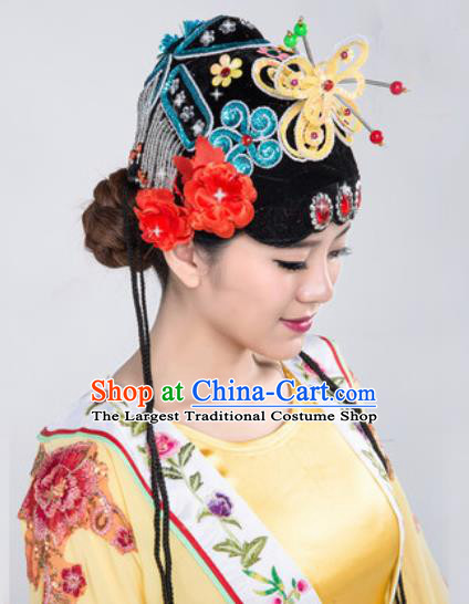 Chinese Traditional Beijing Opera Hair Accessories Classical Dance Headwear for Women