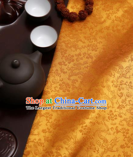 Chinese Traditional Brocade Classical Pattern Design Tang Suit Silk Fabric Material Satin Drapery