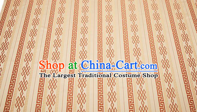Chinese Traditional Garment Fabric Classical Pattern Design Brocade Cushion Material Drapery