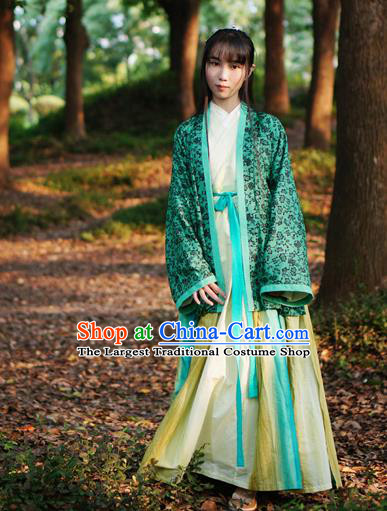 Traditional Chinese Song Dynasty Rich Lady Hanfu Dress Ancient Palace Princess Costumes for Women