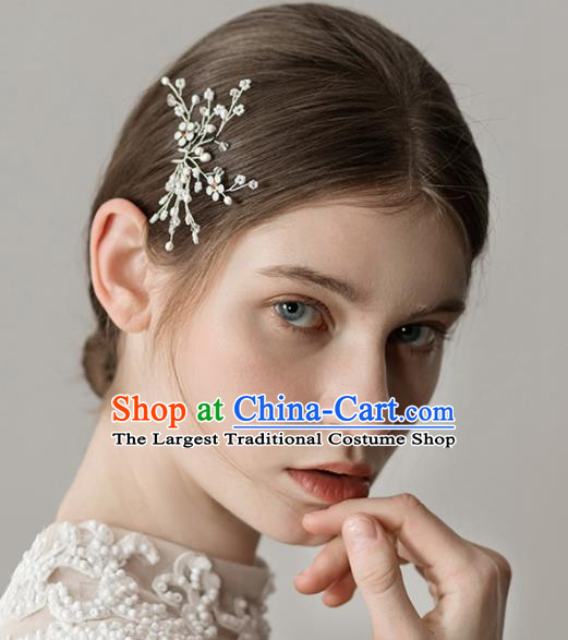 Top Grade Handmade Bride Hair Stick Hair Accessories for Women