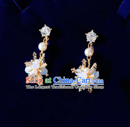 Top Grade Handmade Baroque Crystal Earrings Bride Jewelry Accessories for Women