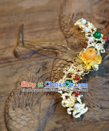 Chinese Ancient Hair Accessories Wedding Palace Hair Clip Hairpins for Women