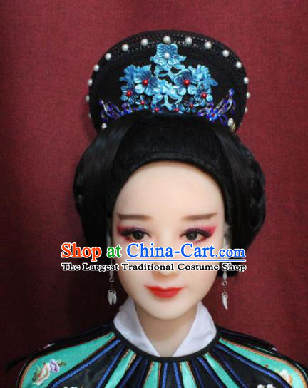 Chinese Ancient Qing Dynasty Manchu Imperial Consort Headdress Hairpins for Women
