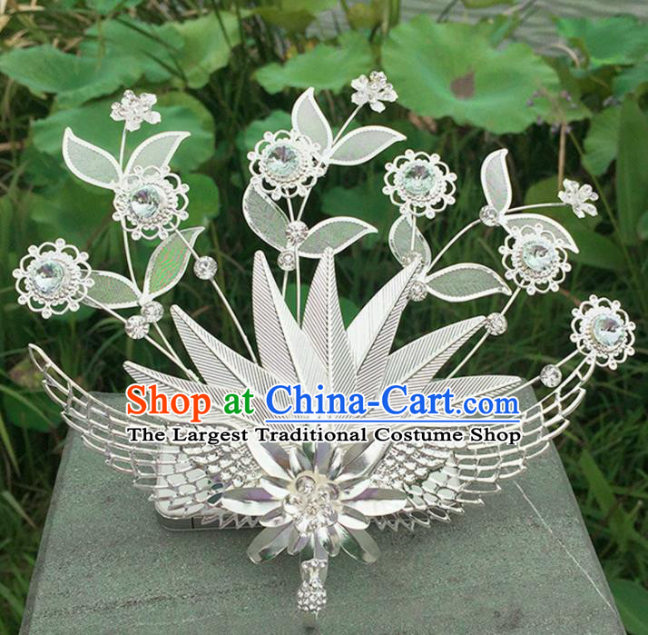 Chinese Ancient Tang Dynasty Hair Accessories Queen Phoenix Hairpins for Women