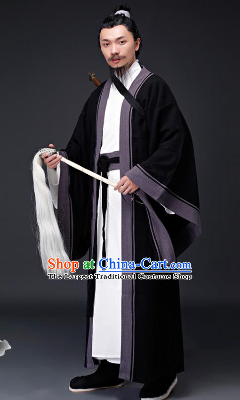Chinese Ancient Drama Song Dynasty Taoist Priest Costumes for Men