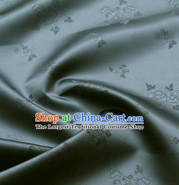 Traditional Asian Cloth Drapery Brocade Korean Hanbok Palace Satin Silk Fabric