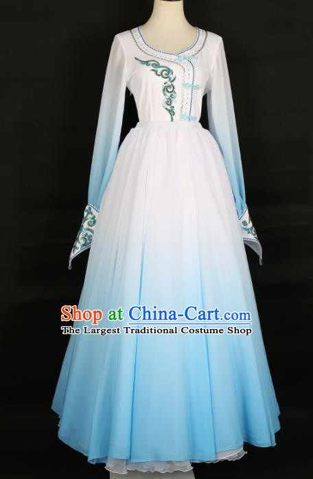 Chinese Mongolian Ethnic Minority Dress Traditional Mongol Nationality Folk Dance Costume for Women