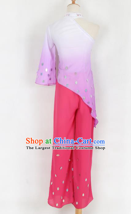Chinese Traditional Folk Dance Yanko Dance Clothing Classical Dance Costume for Women