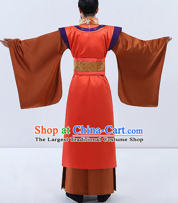 Traditional Chinese Tang Dynasty Emperor Costumes Ancient Drama Embroidered Imperial Robe for Women