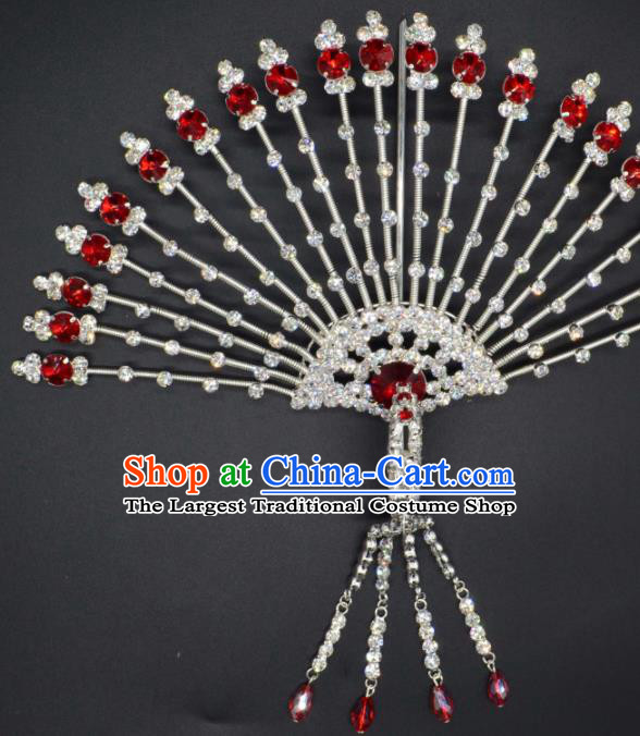 Traditional Chinese Beijing Opera Hair Accessories Ancient Princess Phoenix Hairpins for Women