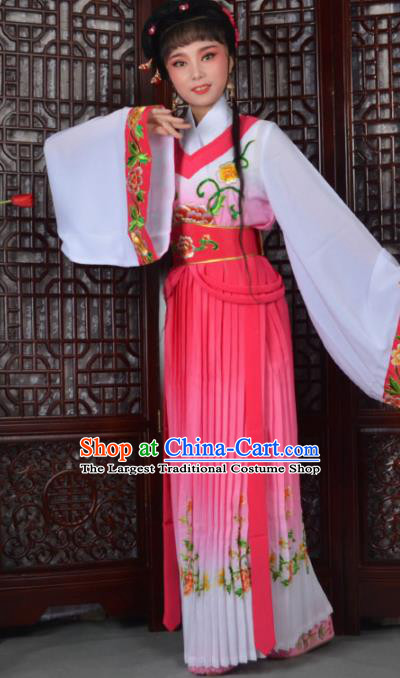 Traditional Chinese Peking Opera Young Lady Costumes Ancient Princess Dress for Adults