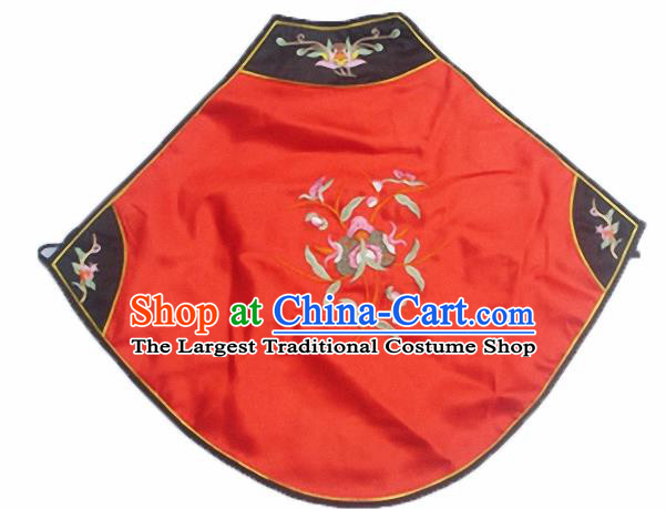 Chinese Traditional Underwear Ancient Costume Embroidered Red Bellyband for Women