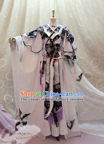 Traditional China Ancient Cosplay Swordswoman Tang Dynasty Palace Princess Costumes for Women