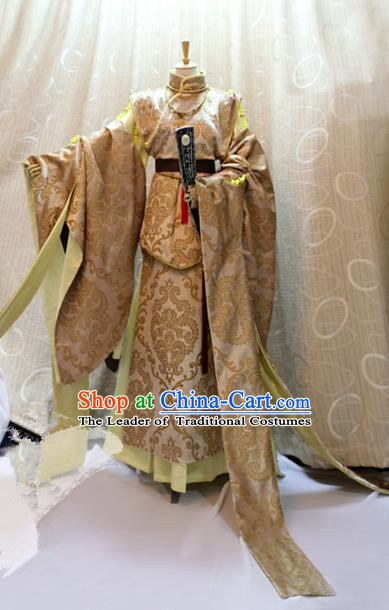Traditional China Ancient Cosplay Princess Clothing Han Dynasty Palace Lady Costumes for Women