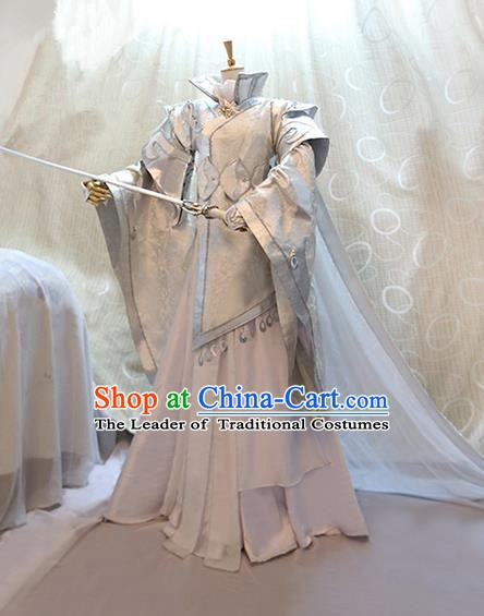 China Ancient Cosplay Swordsman Clothing Traditional Tang Dynasty Princess Dress Clothing for Women