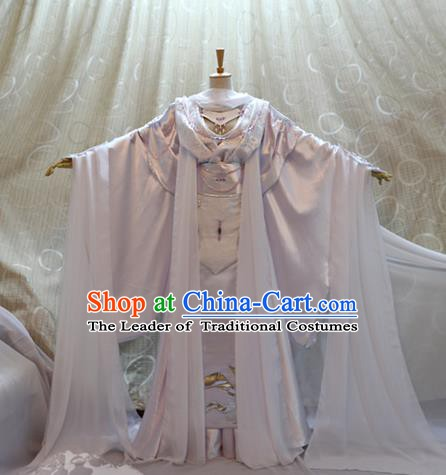 Ancient Traditional China Cosplay Tang Dynasty Palace Princess Costumes for Women