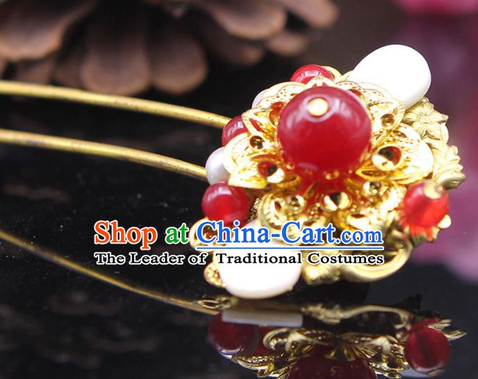 Handmade Chinese Ancient Palace Lady Hair Accessories Hanfu Hairpins Hair Clip for Women