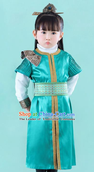 China Ancient Han Dynasty Nobility Childe Swordsman Hanfu Clothing for Kids