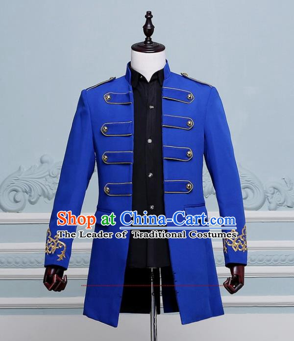Traditional European Venice Court Prince Renaissance Costume Dance Ball Palace Clothing for Men