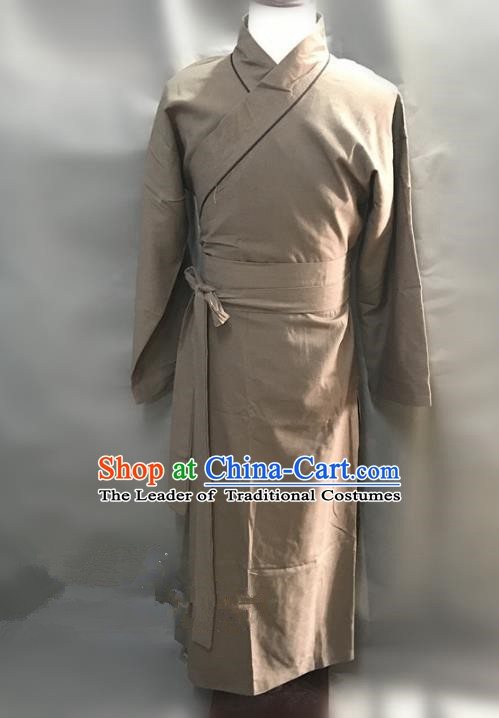 Traditional Chinese Stage Performance Costume Ancient Song Dynasty Husbandman Clothing for Men