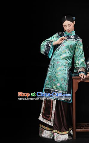 Traditional Chinese Republic of China Costume Ancient Young Mistress Dress Xiuhe Suit for Women