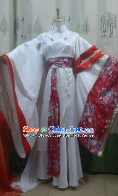 Traditional China Ancient Cosplay Palace Lady Wedding Costume Princess Dress Clothing for Women