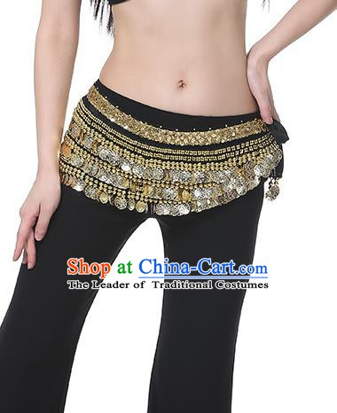 Black Waistband Asian Indian Belly Dance Waist Accessories India National Dance Belts for Women