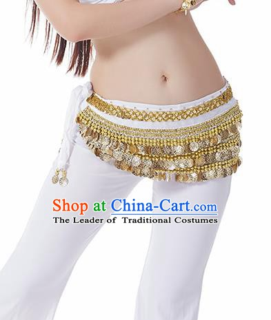 White Waistband Asian Indian Belly Dance Waist Accessories India National Dance Belts for Women