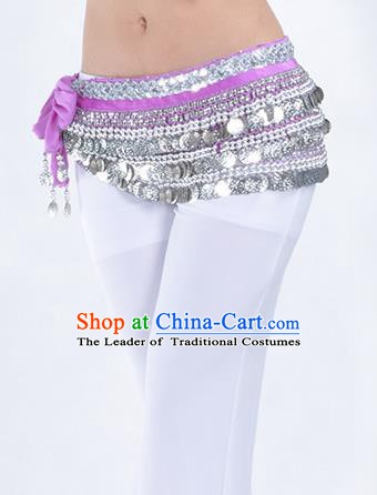 Top Paillette Waistband Asian Indian Belly Dance Waist Accessories India National Dance Belts for Women