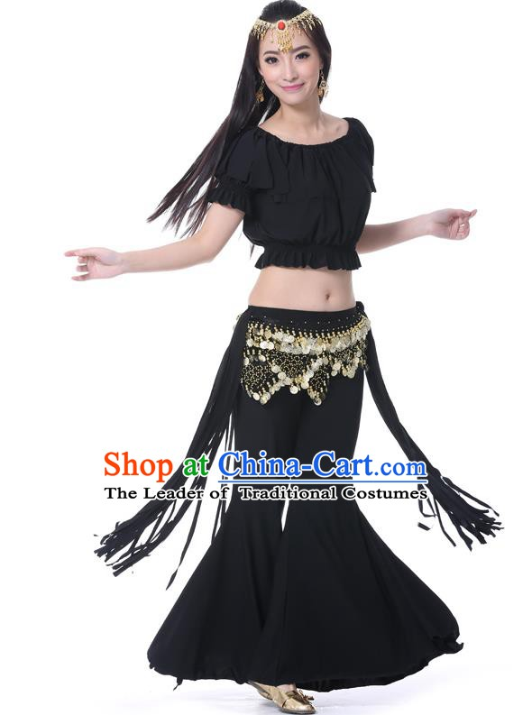 Indian Belly Dance Black Uniform India Raks Sharki Dress Oriental Dance Rosy Clothing for Women