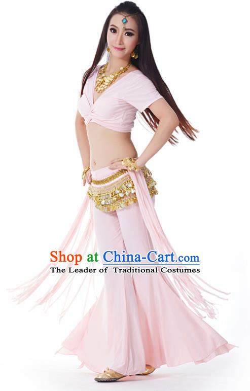 Indian Belly Dance Costume India Raks Sharki Pink Uniform Oriental Dance Clothing for Women