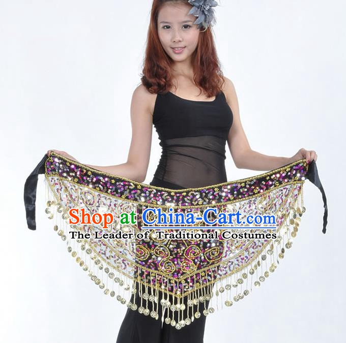 Asian Indian Traditional Belly Dance Waistband India Raks Sharki Belts for Women