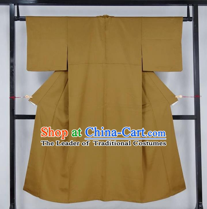 Asian Japanese Traditional Costumes Japan Kimono Bathrobe Clothing for Men